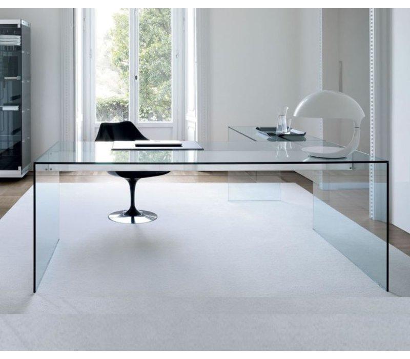 gallotti radice air desk bureau avec retour brand new office. Black Bedroom Furniture Sets. Home Design Ideas