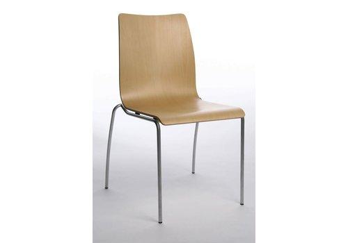 Topstar I-Chair bezoekersstoel, hout