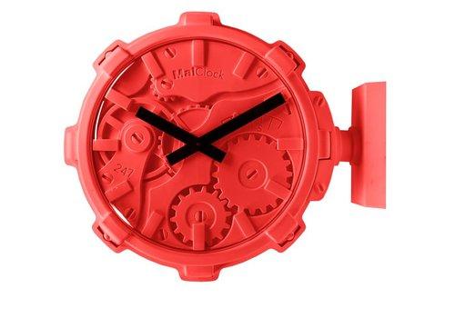 Mal Clock Stereo horloge murale