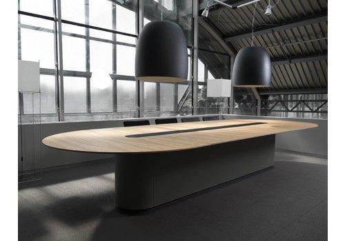 Arco Spazio table de conférence ovale