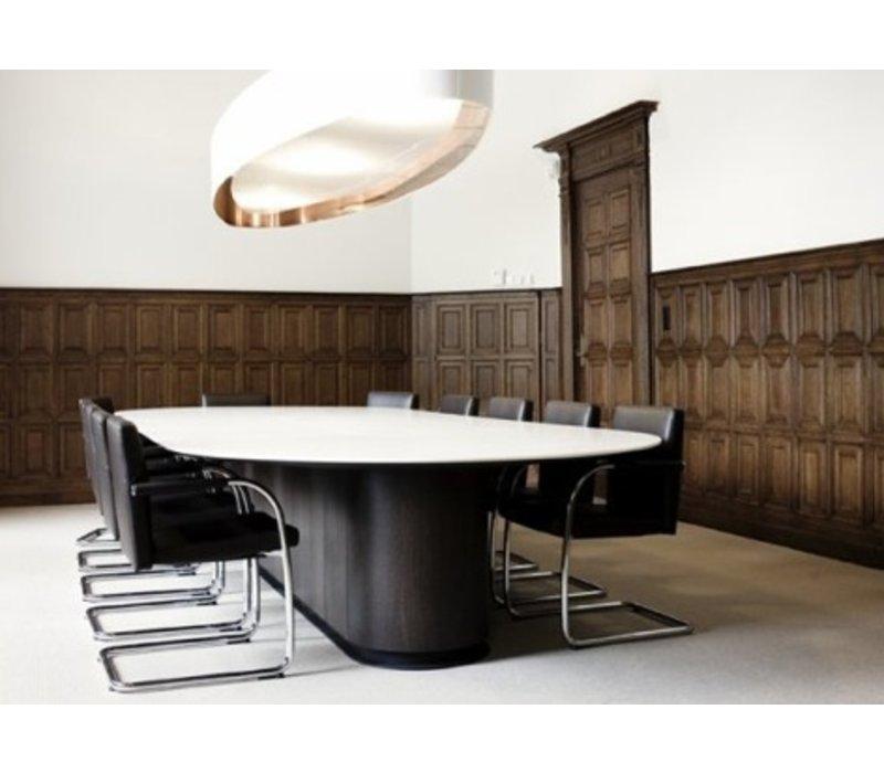 Spazio table de conférence ovale
