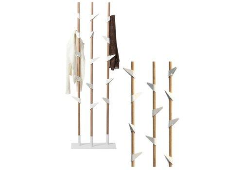 Cascando Bamboo 3 staande kapstok