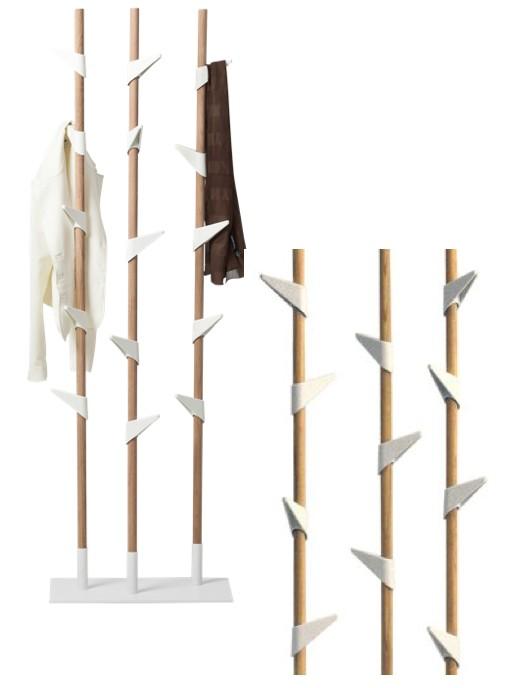 Cascando bamboo porte manteau brand new office - Porte manteau bambou ...