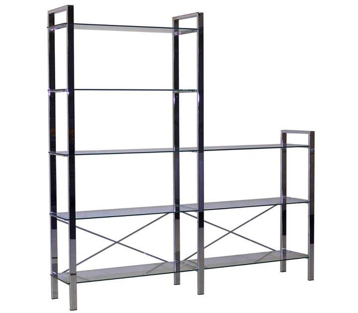 reinhard spirit zeolith tag re modulaire en verre chrom. Black Bedroom Furniture Sets. Home Design Ideas