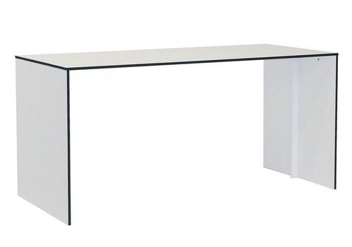 Reinhard Coco bureau en blanc de 160cm