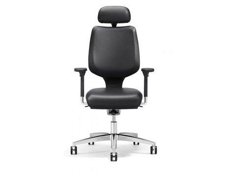 Giroflex 545 bureaustoel met hoofd-en armsteun