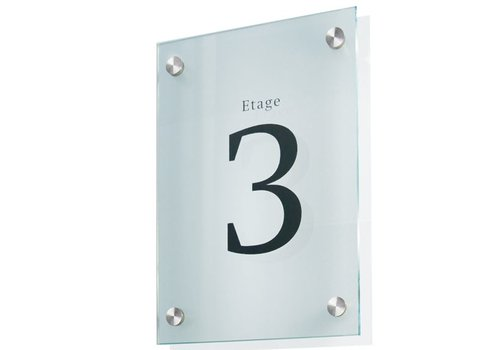 Sign Systems Cristallo deurbordje - 20h x 15b x 2,8d cm