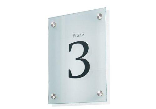 Sign Systems Cristallo muurbord - A4