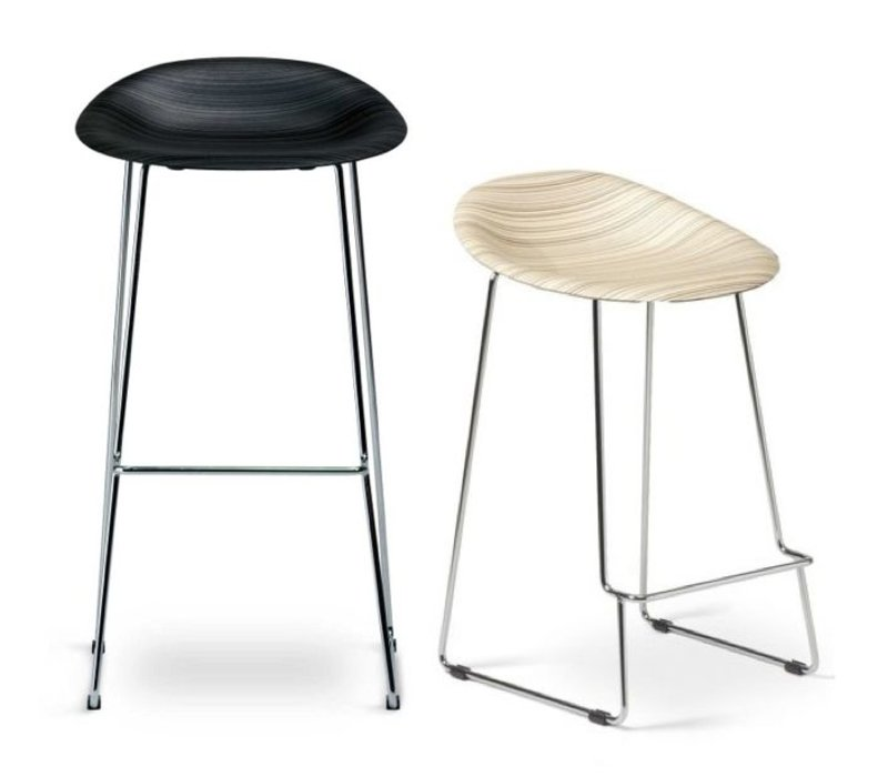 plank stella tabouret de bar haut brand new office. Black Bedroom Furniture Sets. Home Design Ideas