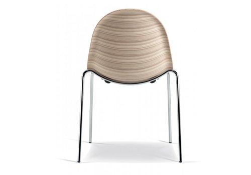 Plank Luna chaise en bois