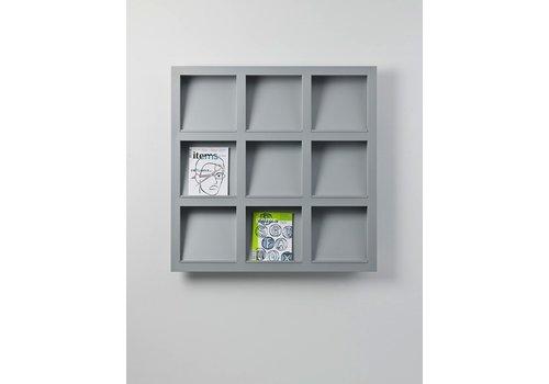 Cascando Brochurehouder Frame, wandmontage