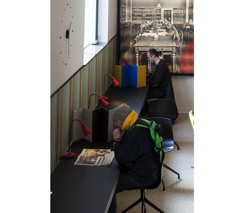zigzag akoestische scheidingswand brand new office. Black Bedroom Furniture Sets. Home Design Ideas
