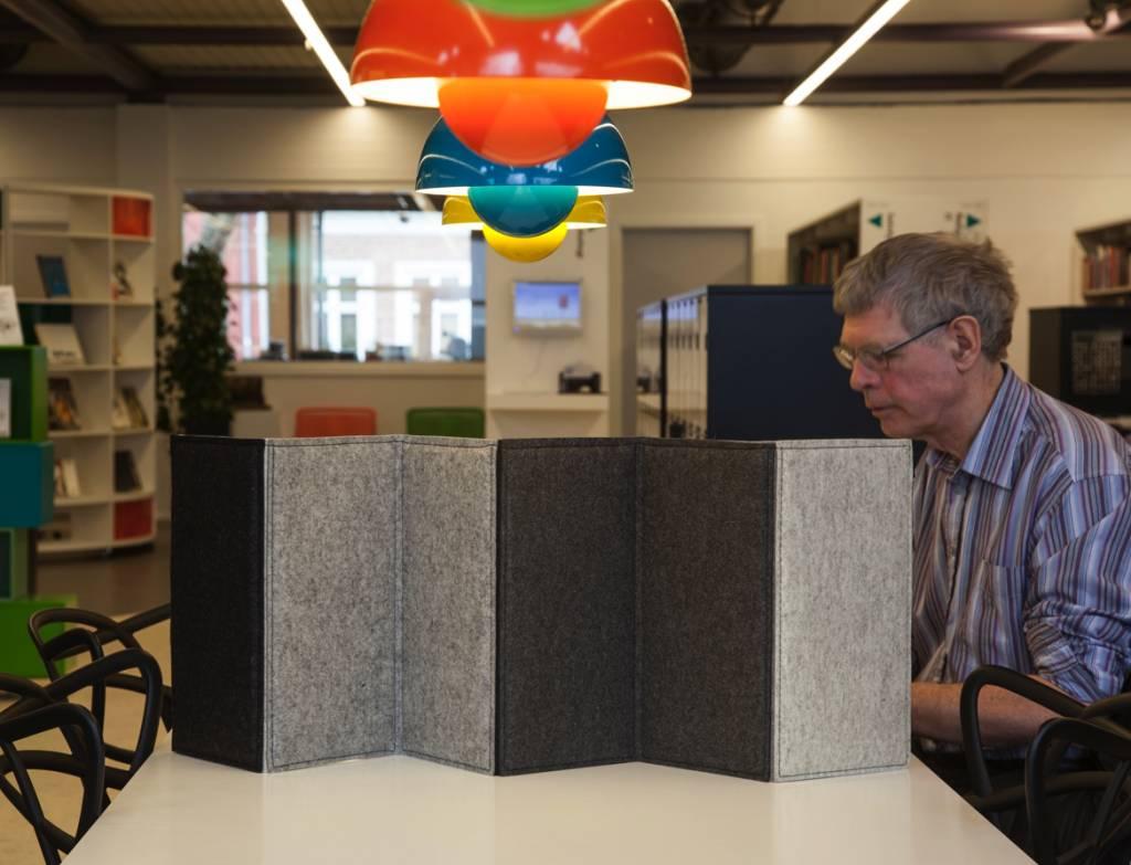 zigzag panneau de s paration flexible brand new office. Black Bedroom Furniture Sets. Home Design Ideas