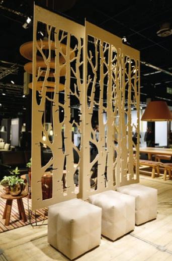 Buzzifalls birch meuble de s paration brand new office - Separation cloison design ...