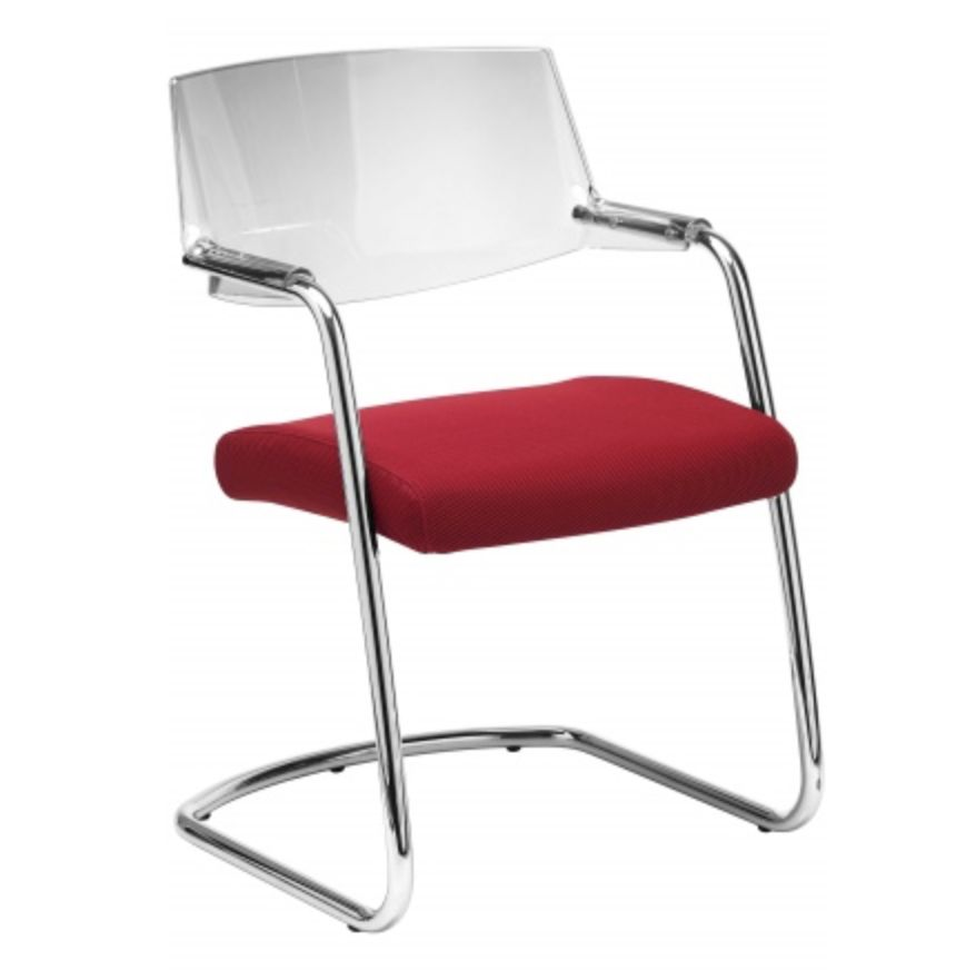 sitland pass chaise de r union en cuir ou tissu brand new office. Black Bedroom Furniture Sets. Home Design Ideas