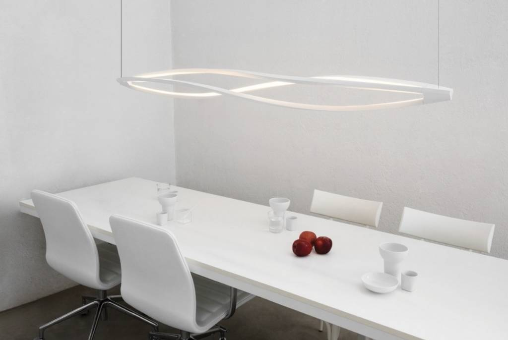 In the wind horizontal hanglamp brand new office - Nemo verlichting ...