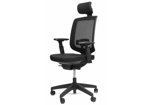 BNO Ergo 05 bureaustoel met hoofdsteun