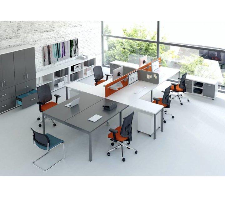 twin panneau de s paration brand new office. Black Bedroom Furniture Sets. Home Design Ideas