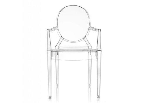 Kartell Louis Ghost chaise en transparent 4 pièces
