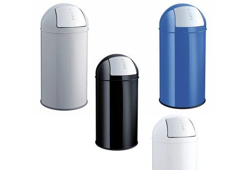 Helit Push Bin afvalbak 30L