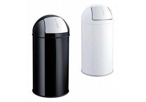 Helit Push Bin poubelle à clapet 50L