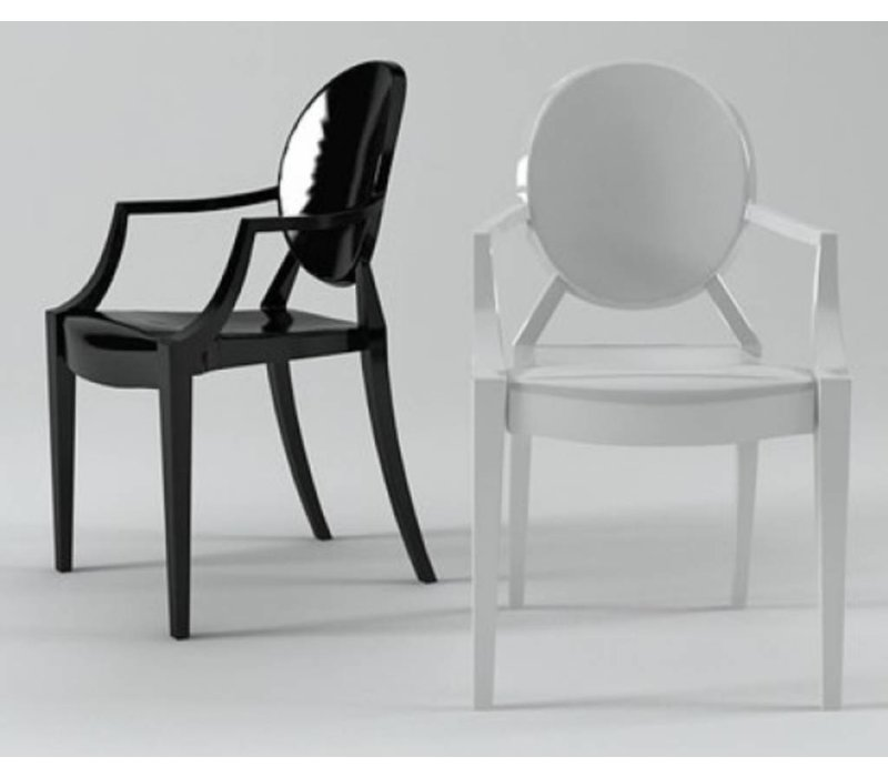 Louis ghost chaise brand new office - Chaise louis ghost kartell ...