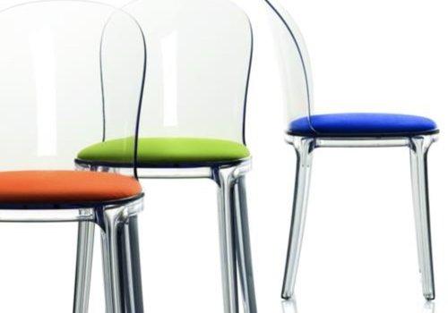 Magis Vanity chaise avec cadre transparent