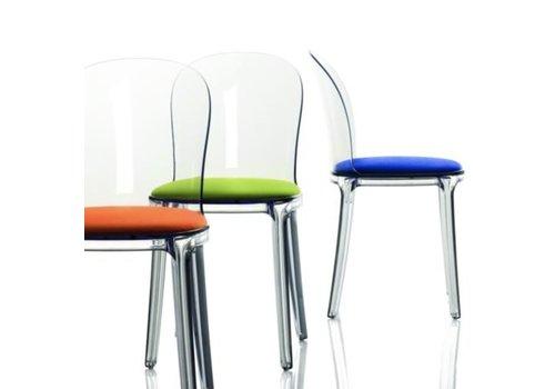Magis Vanity stoel transparant frame