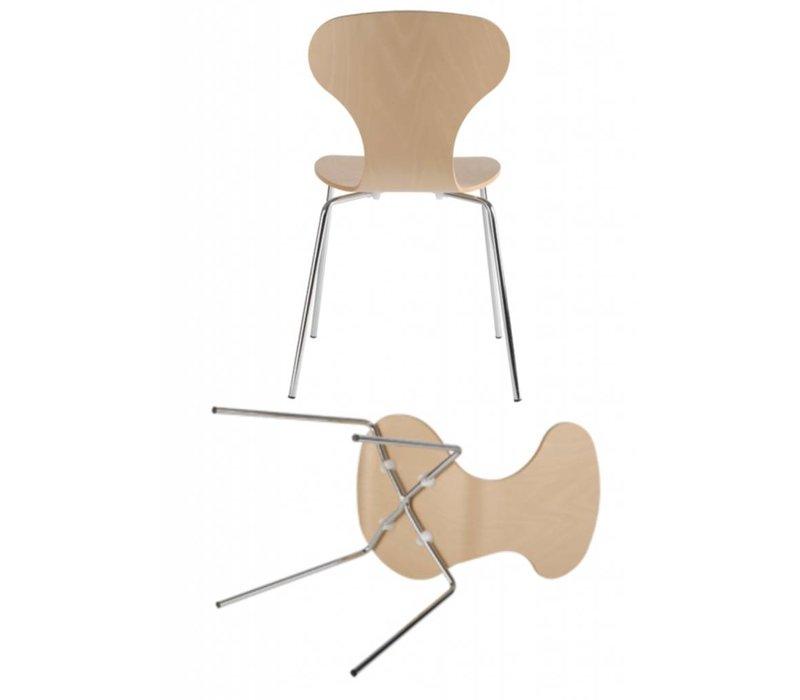 Lipo houten  stoel