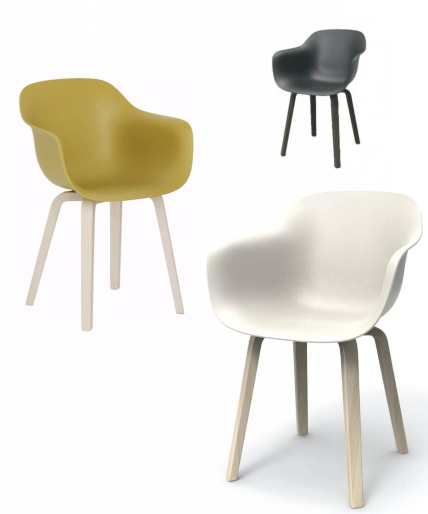 Substance plywood stoelen brand new office for Magis substance