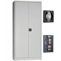 Armoire portes battantes métallique