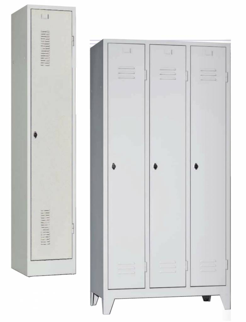 Armoire vestiaires m tallique 1 2 3 portes brand new office - Armoire metallique vestiaire ...