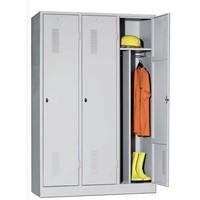 Armoire garde-robe métallique 1-2-3 portes
