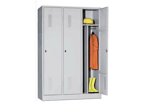 BNO Armoire garde-robe métallique 1-2-3 portes