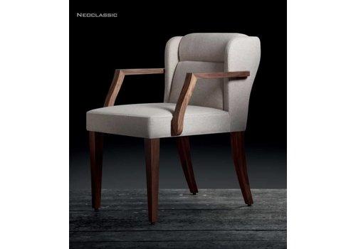 Riccardo Rivoli Neoclassic chaise avec ou sans accoudoirs