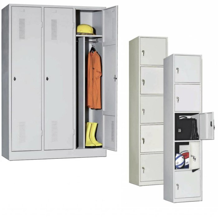 Lockers / Garderobekasten