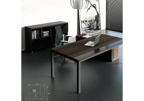 Polmarco Spathio bureau de design avec armoires basse