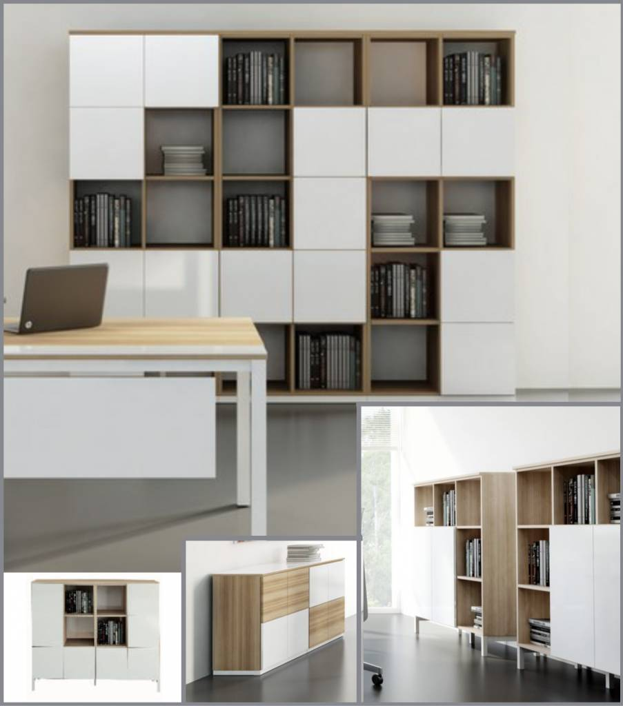Etag Re Ou Biblioth Que Pour Le Rangement Brand New Office # Bibliotheque Modulaire