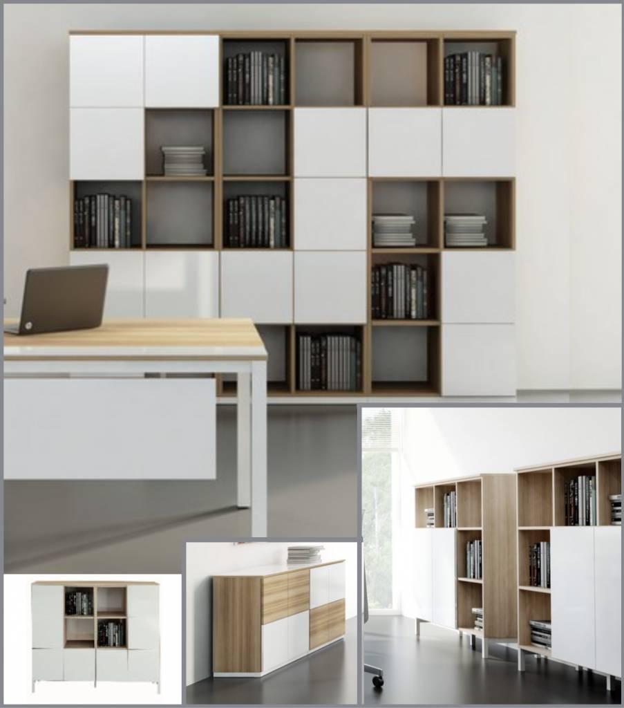 armoires basses et dressoirs design brand new office. Black Bedroom Furniture Sets. Home Design Ideas