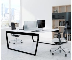 Type v bureau de design en îlot brand new office