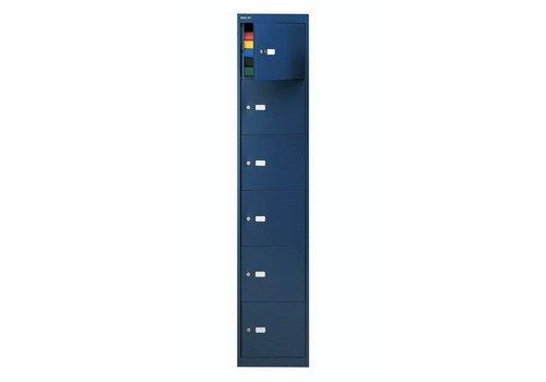 Bisley Vestiaire métallique 6 compartiments