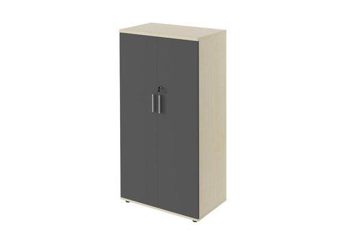 Polmarco Type middelhoge kast met deuren - 149H cm