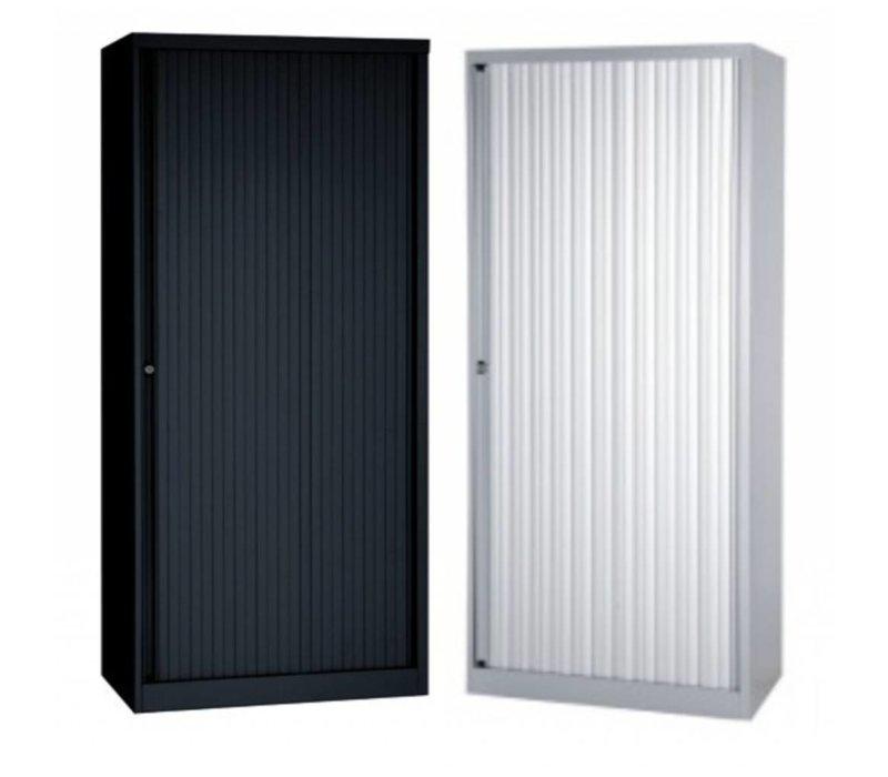 Armoire à portes en metal - 163cm