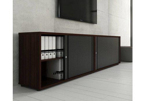 Mdd Basic armoire à rideaux basse étroit