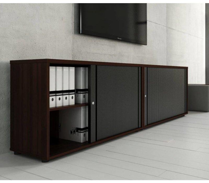 Basic armoire à rideaux basse étroit - Brand New Office