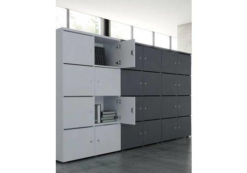 Mdd Melamine lockers 162H cm