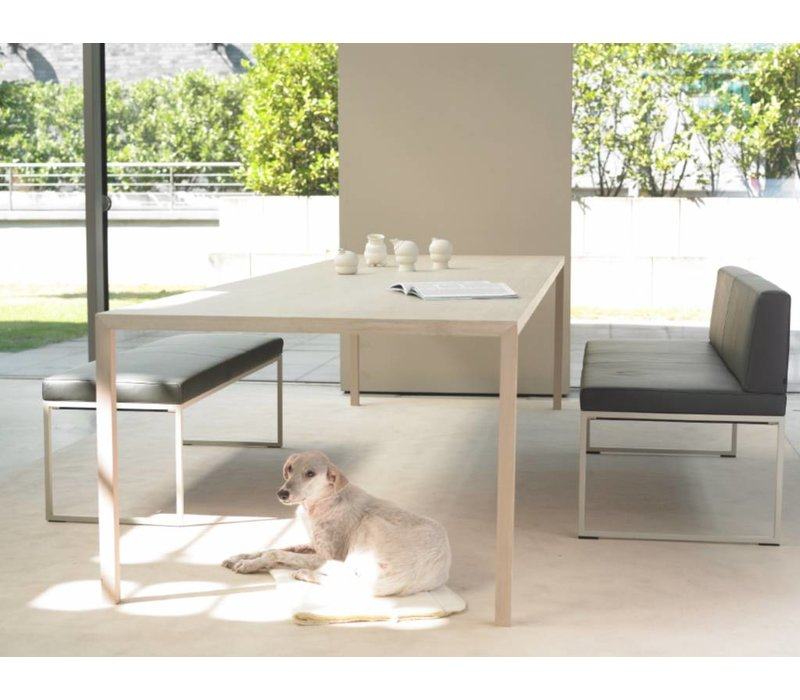 Slim table en chêne