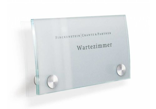 Sign Systems Cristallo plaques de porte - 10h x 17l