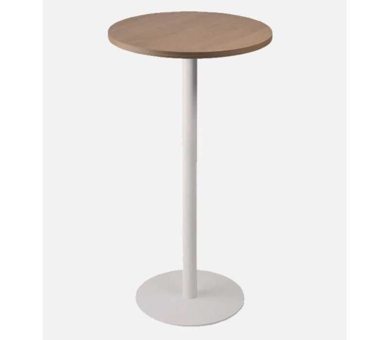 Table Haute Ronde scoop tables haute ronde - brand new office