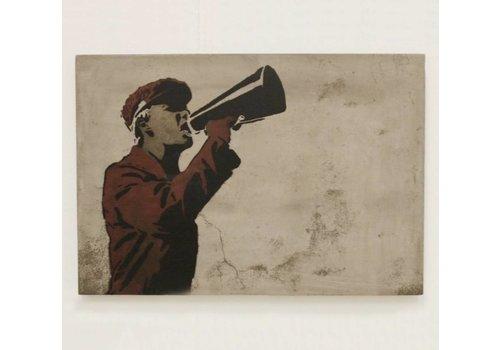 Jan Kurtz Speaker peinture en béton